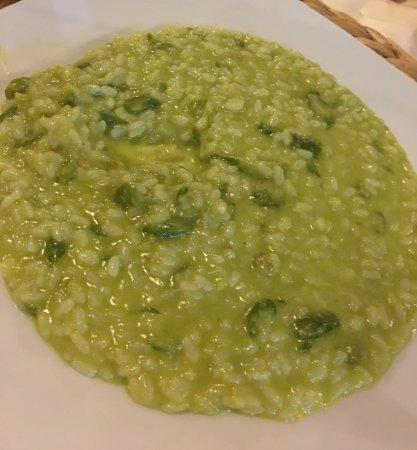 Calci, Italia: Risotto con asparagi