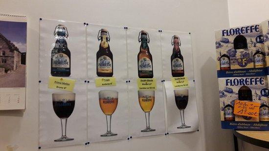 Floreffe, Belgique : les bières disponibles