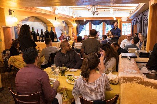 busy restaurant interior