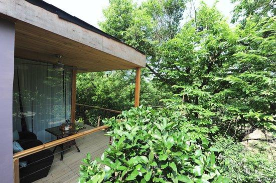 CTN Garden Hotel: wooden cottage