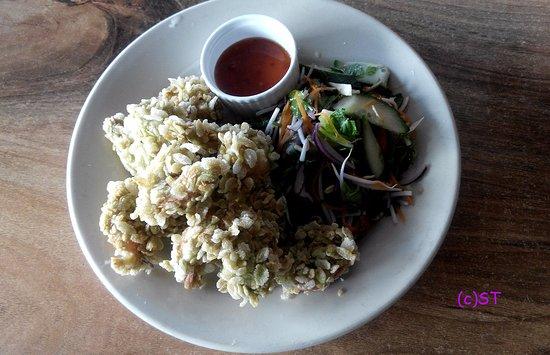 Devonport, New Zealand: Green Rice Prawn