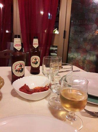 Sant' Alessio Siculo, Italy: местное пиво хорошее