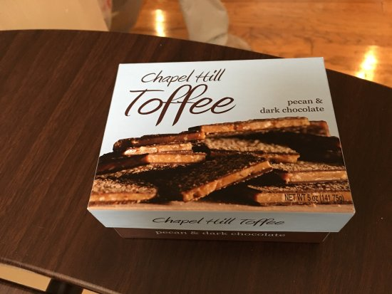 Carrboro, Северная Каролина: Chapel Hill Toffee