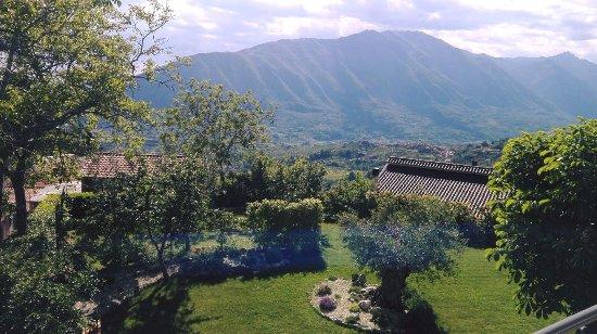 Pescosolido, Italia: Questa era la meravigliosa vista dalla camera