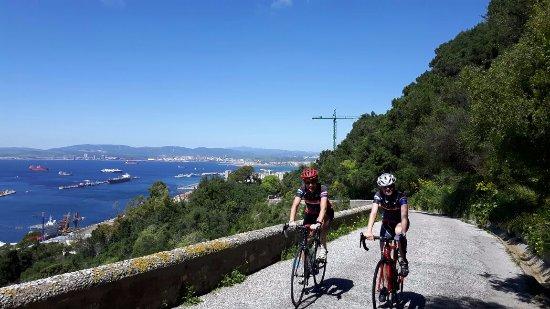 Pueblo Nuevo de Guadiaro, Spain: Los Koop visitaron la vecina Gibraltar durante sus vacaciones.