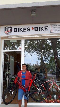 Pueblo Nuevo de Guadiaro, Spanien: Gracias Javier Triay por confiar en nosotros para poner a punto tu bicicleta.