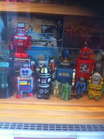 Callander, UK: Some retro robots!