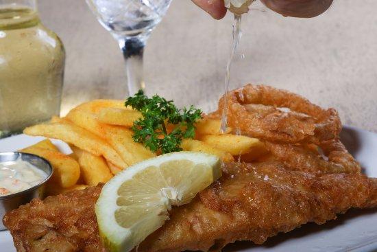 Ballito, Güney Afrika: Beer Battered Fish & Chips