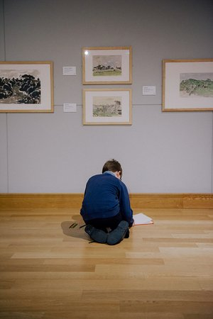 Llangefni, UK: Oriel Kyffin Williams offers an inspiration to all ages.