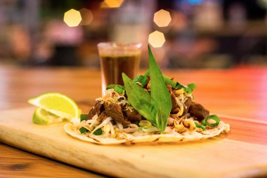 Windsor, Australia: Beef pho taco