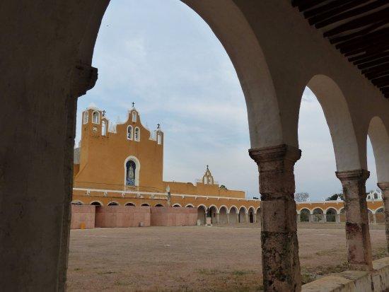 Izamal, المكسيك: Het klooster