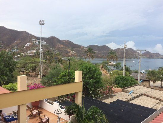 Hotel Casa D'mer Taganga: Aussicht I