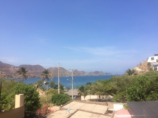 Hotel Casa D'mer Taganga: Aussicht II