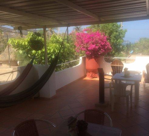 Hotel Casa D'mer Taganga: Terrasse