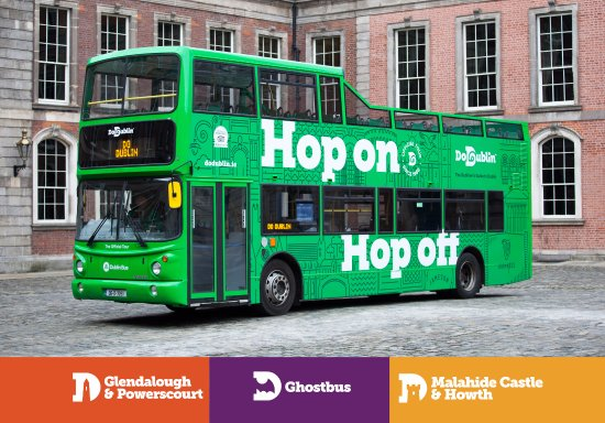 Open top bus dublin