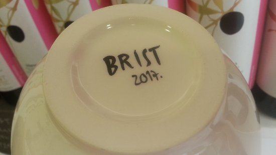 Воднян, Хорватия: Handmade ceramic bowls by Marina Marinski for Brist
