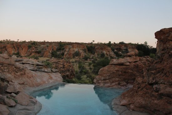 Musina, Sudáfrica: Small pool with a view