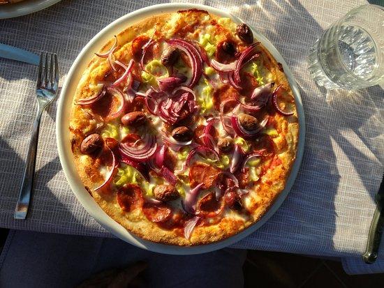 Pizza Per Caso Le Quattro Coppe : Pizza Diavolo