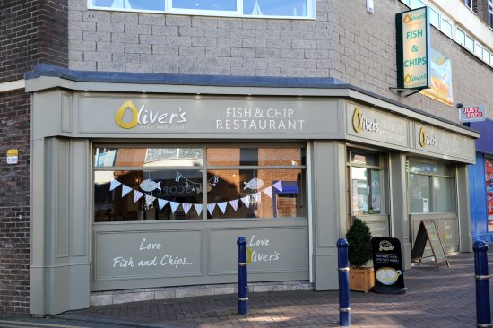 Redcar, UK: OLIVERS RESTAURANT!