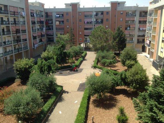Hotel&Residence Federiciano : Affaccio su cortile interno