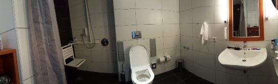 Holiday Inn Berlin Centre Alexanderplatz: No drop rails at the toilet