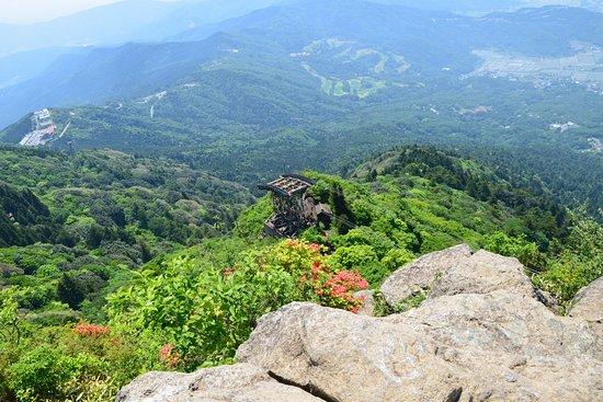 Tsukuba, Japon : 女体山頂の岩頭