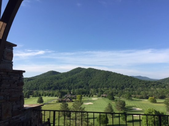 Mountain City, TN: View from dining room