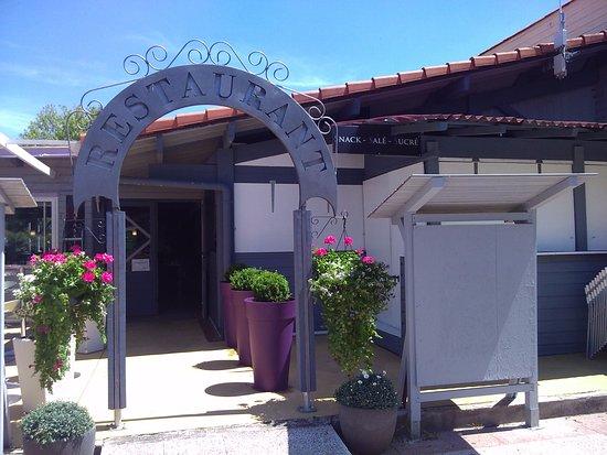 Landes, France: entrée restaurant