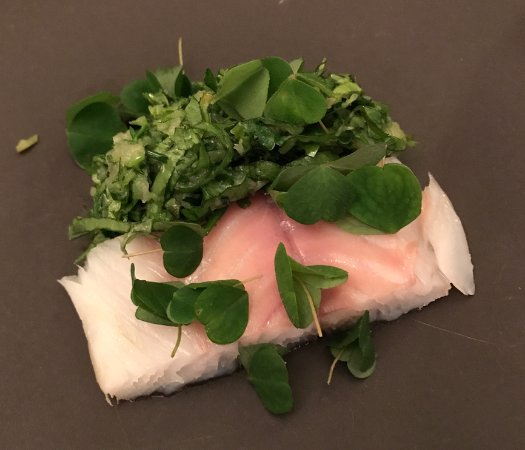 Le Chateaubriand : pollock with Herbs