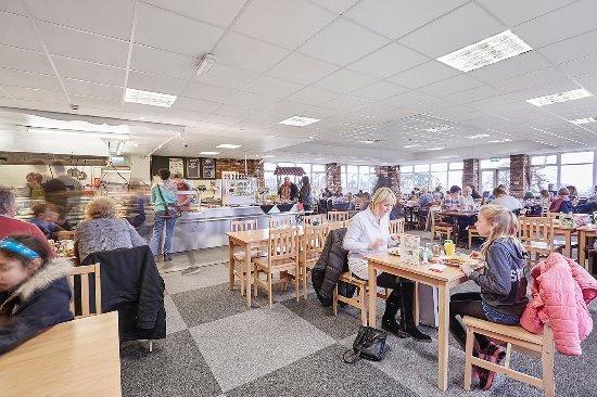 Higher Burwardsley, UK: Cafe