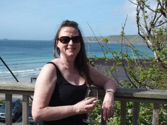 Sennen Cove, UK: View from the terrace
