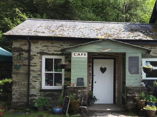 Trefriw, UK: The entrance to The Cafe