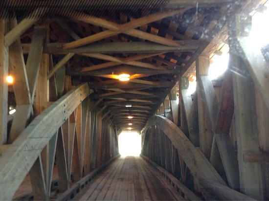 Middlebury, VT: Pulp Mill Covered Bridge