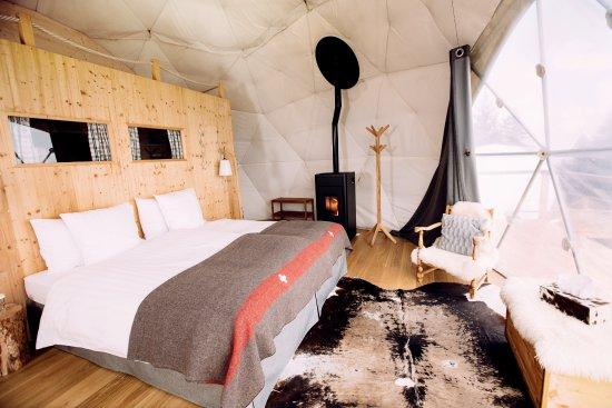 Whitepod eco luxury hotel bewertungen fotos for Aggiunte alle suite modulari