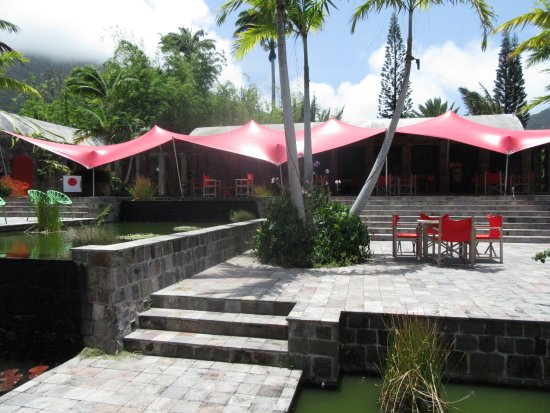 A real find in Nevis - great food and beautiful location