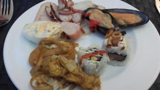 Portalegre, Portugal: Salada de Polvo sem sabor...