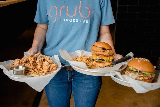 Grub Burger Bar: Harlem Chicken Tenders, the Lockhart Legend, & Jive Turkey