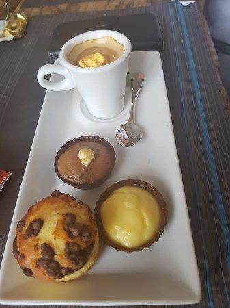 RESTAURANT DU PORT : café gourmand