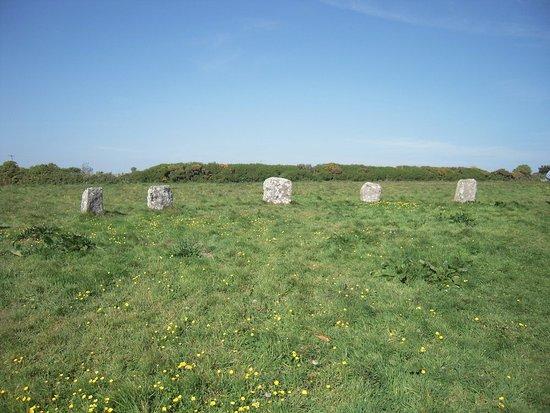 Lamorna, UK: Stone circle