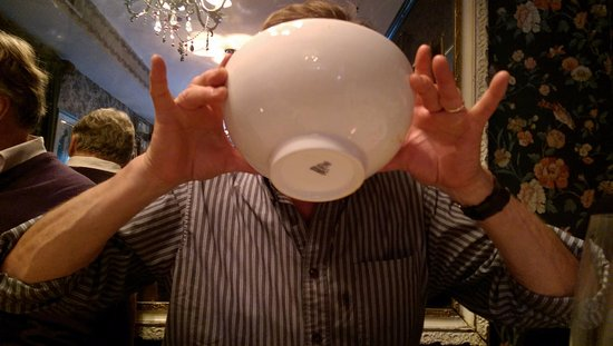 Bistro Cacao: Excellent bouillabaisse: good to the last drop
