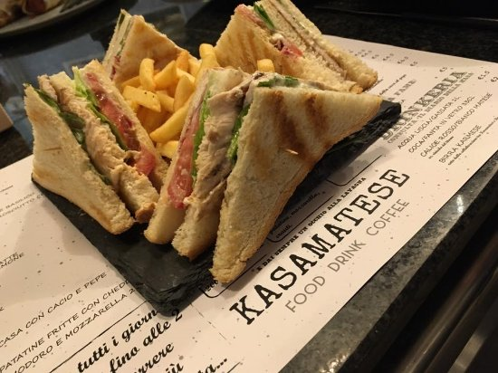Piedimonte Matese, Italy: Club Sandwich
