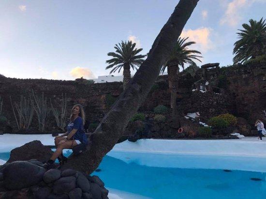 Punta Mujeres, Spanien: Pool