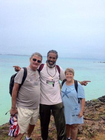 Sandys Parish, Bermuda: Our guide Mitchel