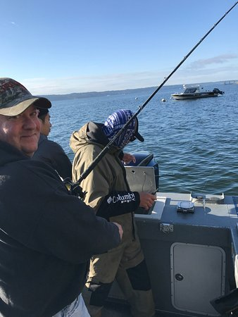 Everett, WA: Fish on!