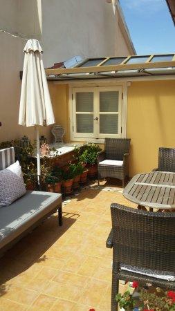 Aetoma Hotel: Balcony