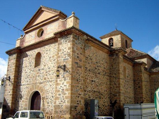 Laujar de Andarax, Spain: Iglesia de Santa Ana, Cadiar © Robert Bovington