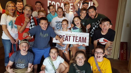 Bristol, TN: Tri-Cities Escape with Middle School Youth Group