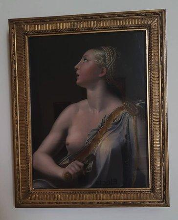 Museo Nazionale Di Capodimonte: Lucrezia (romana) By Francesco Mazzola  (parmigianino)