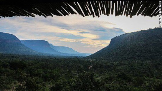 Waterberg, South Africa: View from the room