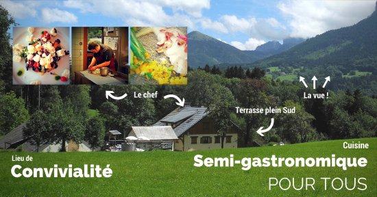 Thorens-Glieres, France: Présentation du lieu